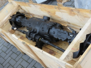 Telescopic loader front axle COMPLETE