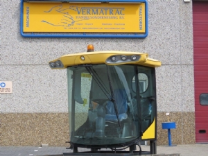Cab for New Holland CS combine harverster