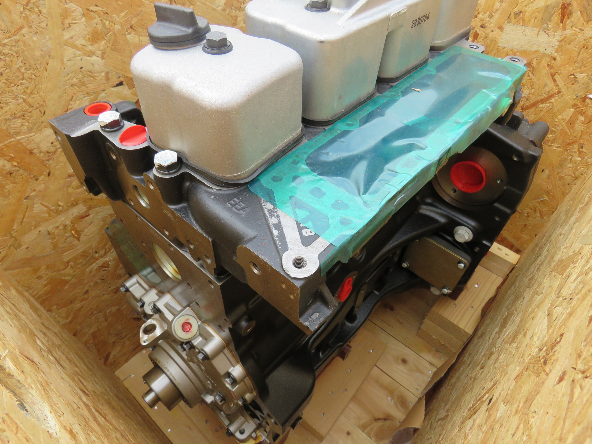 Long block - 4 cylinder (with turbo)