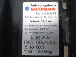 Sauermann etage trekhaak - 47623679