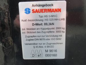 Sauermann etage trekhaak - 84351216